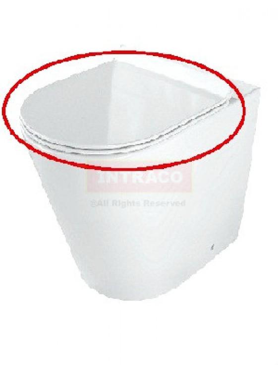 Orin Ultra Thin UF Soft Close Seat & Cover (White) For Riga CC/BTW 210.PT.3.1019.UT.WH.1 UT