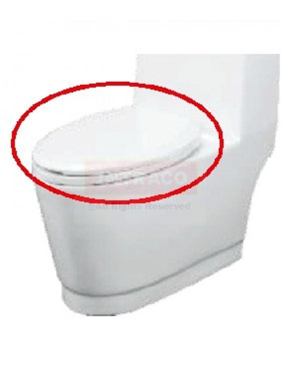 Orin UF Soft Close Seat & Cover (White) For Bordrum 210.PT.3.1028.UF.WH.1