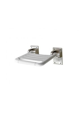 JOHNSON SUISSE Flip Up Shower Seat WBBA100343SS